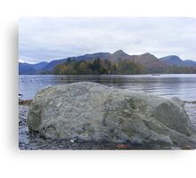 Stone on beach Keswick Metal Print