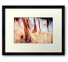 Fire Falls Framed Print