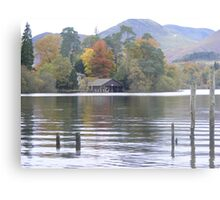 Autumn colours in Keswick Metal Print