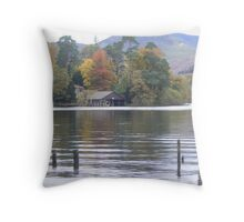 Autumn colours in Keswick Throw Pillow