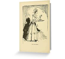A Christmas Carol by Charles Dickens art by Arthur Rackham 1915 0120 With The Pudding Greeting Card