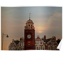 sunset over crouch end N8  Poster