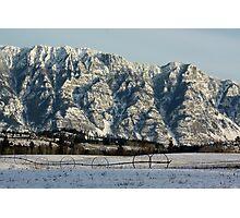 Waiting For Summer - Skimmerhorn Mountains, Creston, BC, Canada Photographic Print