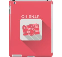 Oh snap! iPad Case/Skin
