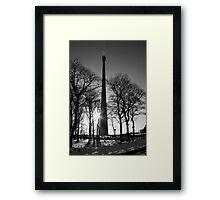 Portrait of Emley Moor Framed Print