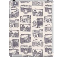 Vintage photo cameras iPad Case/Skin