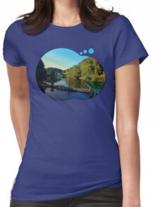 A summer evening along the river | waterscape photography Womens Fitted T-Shirt