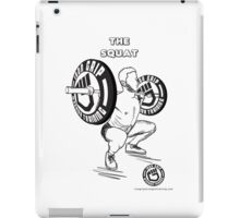 The squat !!! Iron grip training  iPad Case/Skin