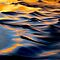 Ripples in Blue and Gold by Sue  Cullumber