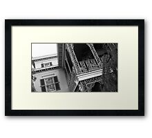 Haunted 09 Framed Print