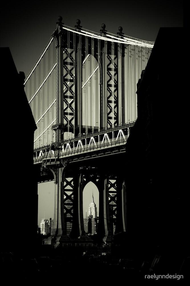 Manhattan Bridge in Brooklyn by raelynndesign