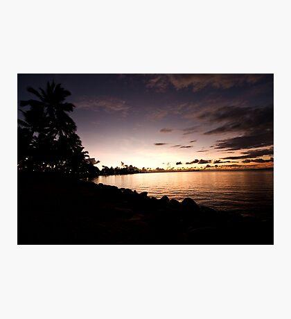 Denarau Island Sunset, Fiji Photographic Print