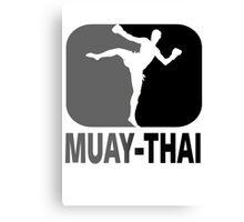 Muay Thai - Thai Boxing Canvas Print