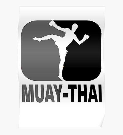 Muay Thai - Thai Boxing Poster
