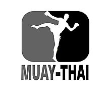 Muay Thai - Thai Boxing Photographic Print