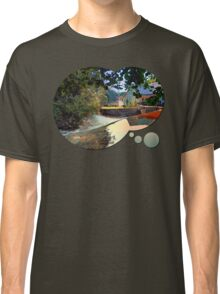 Nature, a river and colorful reflections | waterscape photography Classic T-Shirt