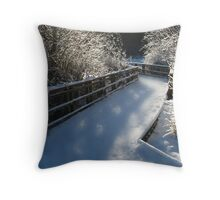 may all your paths be blessed Throw Pillow