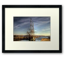 The Good Ship Friendship Framed Print
