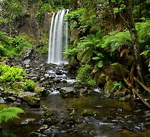 A World Away - Hopetoun Falls by Matt  Streatfeild