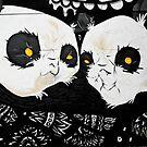 Graffiti pandas by yurix