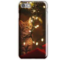 Christmas Kitties iPhone Case/Skin