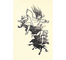 The Zankiwank & the Bletherwitch by Shafto Justin Adair Fitz Gerald art Arthur Rackham 1896 0097 Tumbling Photographic Print