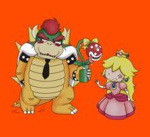 Princess Peach X Bowser Kids Tee