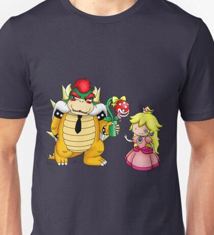 Princess Peach X Bowser Unisex T-Shirt