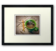 The Search Framed Print