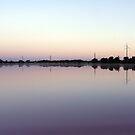 Adelaide Salt Works Lake Side by Gary Cummins