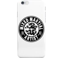Mixed Martial Artist iPhone Case/Skin