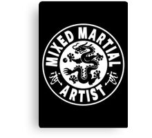 Mixed Martial Artist Canvas Print