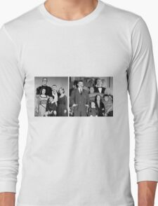 The Munsters Meet The Addams Family Long Sleeve T-Shirt