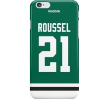 Dallas Stars Antoine Roussel Jersey Back Phone Case iPhone Case/Skin