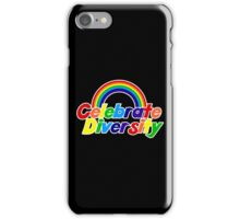 Celebrate diversity iPhone Case/Skin