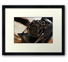 Folding Camera Framed Print