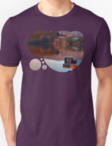 Romantic evening at the lake | waterscape photography T-Shirt