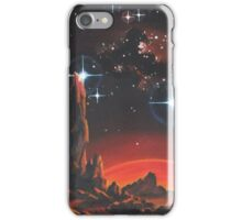 Red Planet iPhone Case/Skin