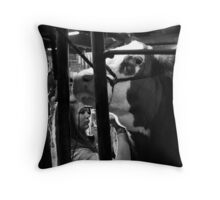 Shaved Beef Throw Pillow