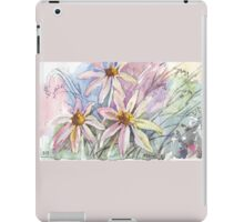 Daisies and weeds iPad Case/Skin