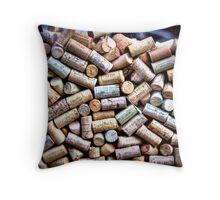 liege (Corks) Throw Pillow