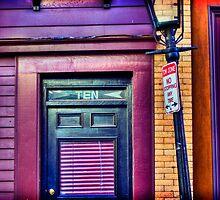 Number 10 Purple Place by jtothenines