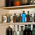 Bottles and Baskets by Susan Savad