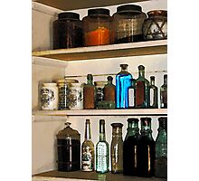 Bottles and Baskets Photographic Print