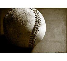 Vintage Baseball Photographic Print