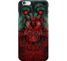 Werewolf shape iPhone Case/Skin