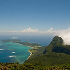 Lord Howe Island from Mount Gower by Erik Schlogl