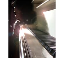 Music and Me Photographic Print
