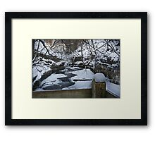 Above the Chaos Framed Print