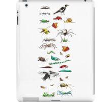 Insects & friends leggings iPad Case/Skin
